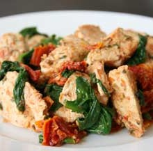 Chicken and Sundried Tomatoes