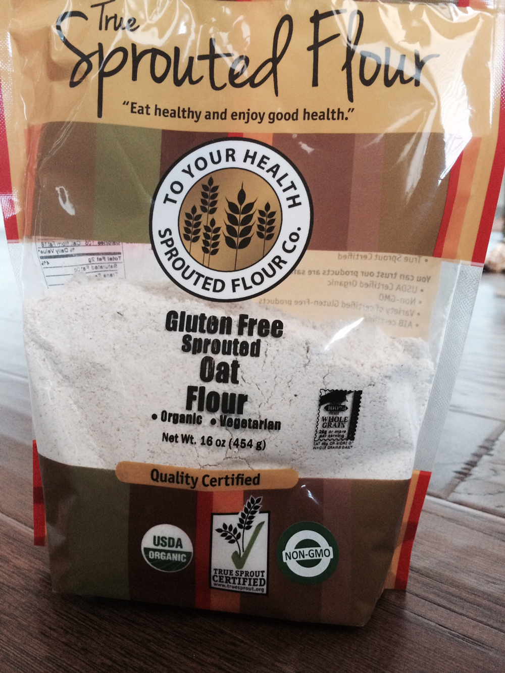 Sprouted Oat Flour
