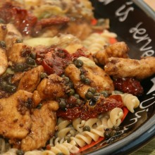 Chicken with Sundried Tomatoes